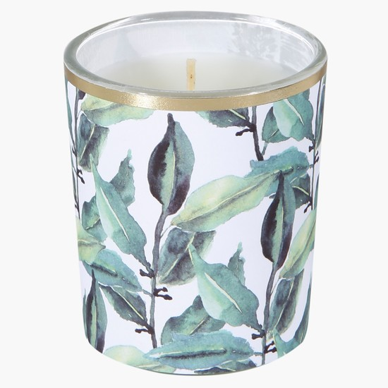 Decorative Glass Candle - Set of 3