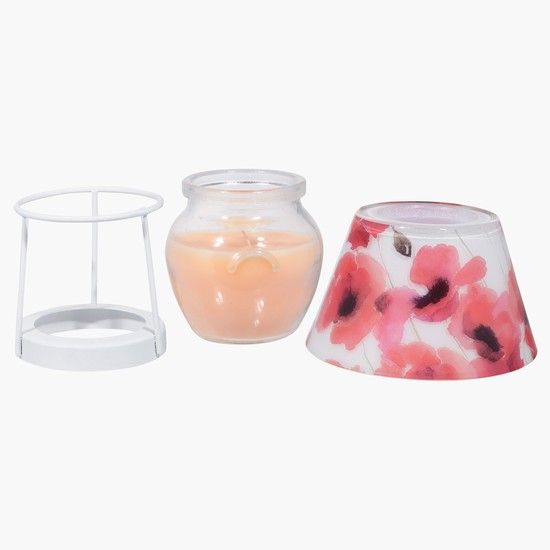 Jar Candle with Lampshade