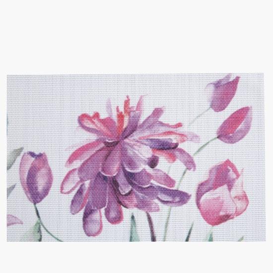 Floral Print Placemat - 45x30 cms