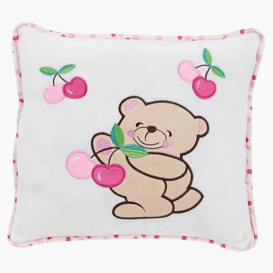 Embroidered Filled Kids Cushion