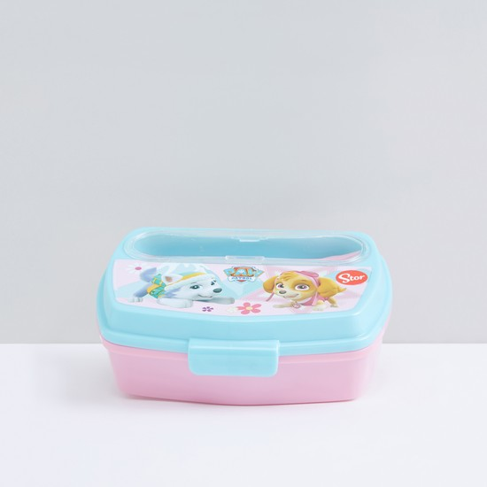 PAW Patrol Printed Lunch Box with Spoon and Fork