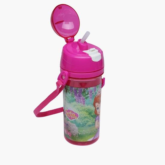 زجاجة مياه بطبعات الأميرة صوفيا