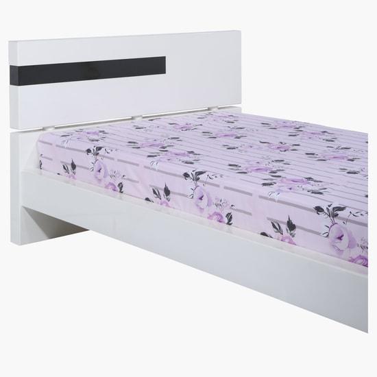 Floral Print 3-Piece Bed Sheet Set