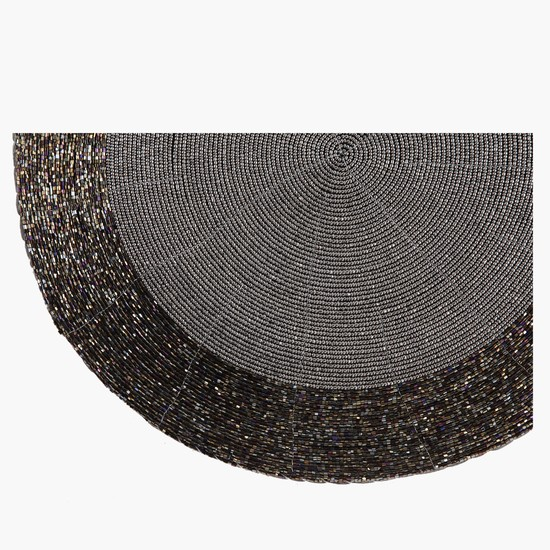Textured Round Placemat - 36 cms