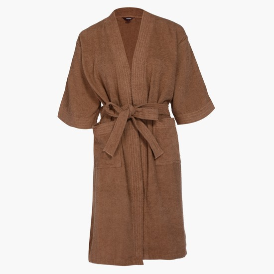 3/4 Sleeves Bathrobe