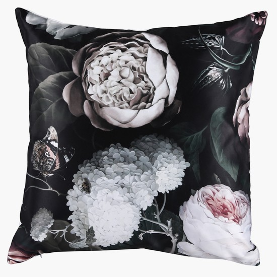 Printed Square Filled Cushion - 45x45 cms