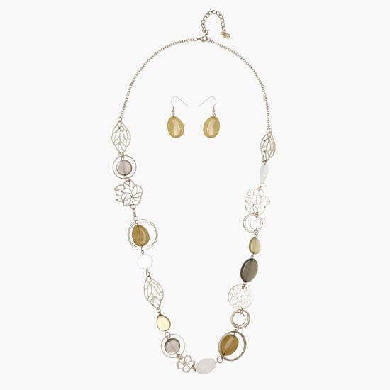 Multiple Pendant Chain Necklace