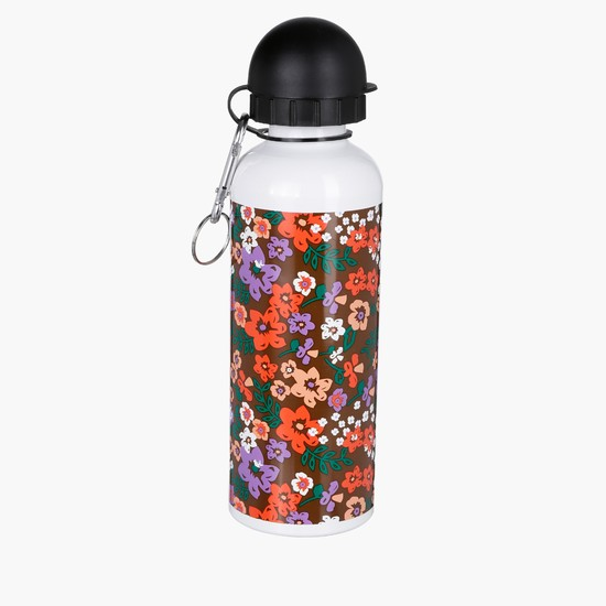 Printed Flip Top Water Bottle