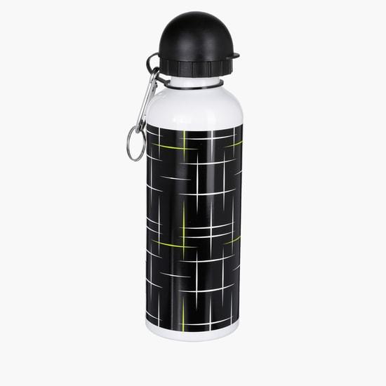 Printed Water Bottle with Flip Top Cap