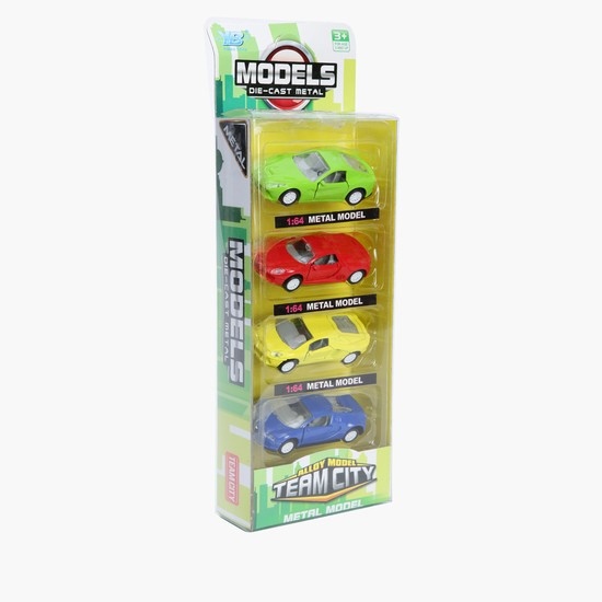 Die Cast 4-Piece Car Set