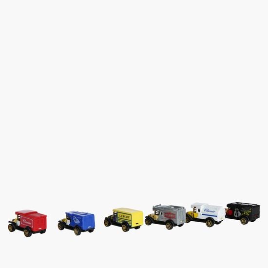 Die Cast 6-Piece Car Set