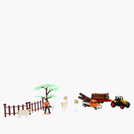 مجموعة لعبة المُزارع داي كاست