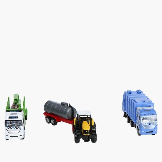 Die Cast 3-Piece Vehicle Set