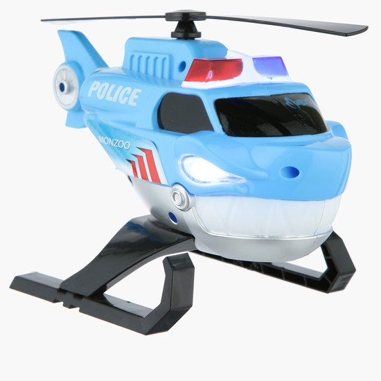 Monzoo Heroes Sound and Light Friction Toy
