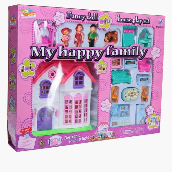 طقم ألعاب العائلة السعيدة