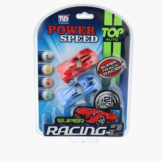 Power Speed Super Racing Car - Set of 2
