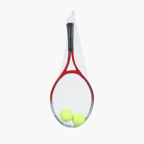 طقم التنس من مضارب وكرة