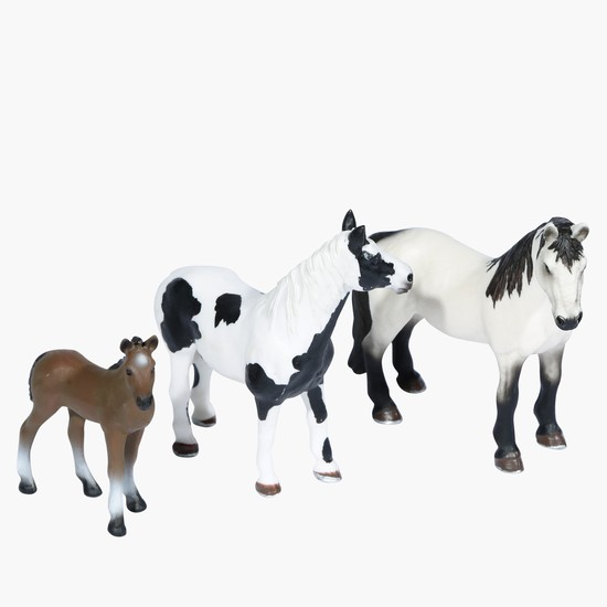 Real World Toy Horse Set