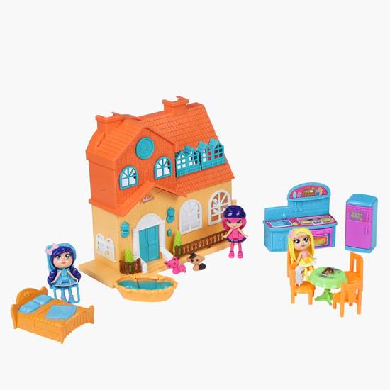 Sweet Family Home Villa Play Set