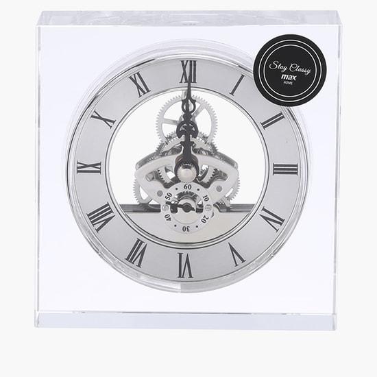 Decorative Table Clock 11x11 cms