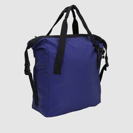 Messenger Bag with Zip Closure