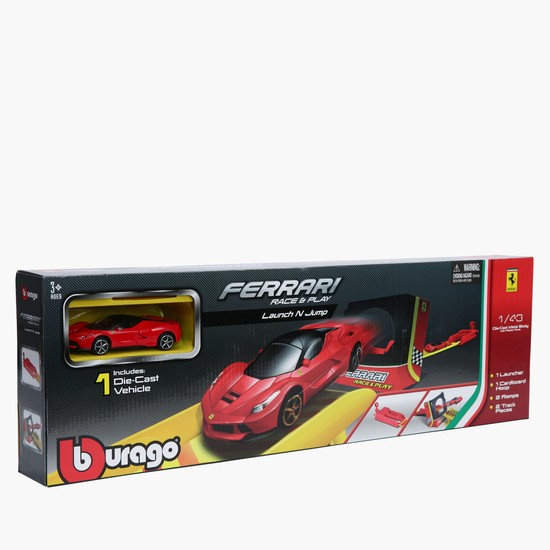 Ferrari Race and Play Launch and Jump Car Set