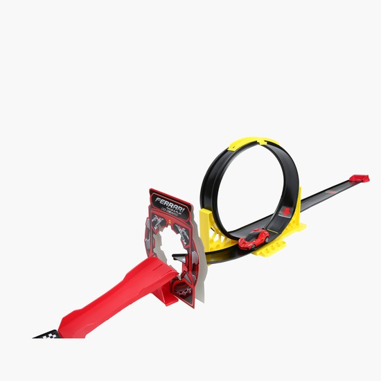 Ferrari Go Gear Loop and Race Challenge Set