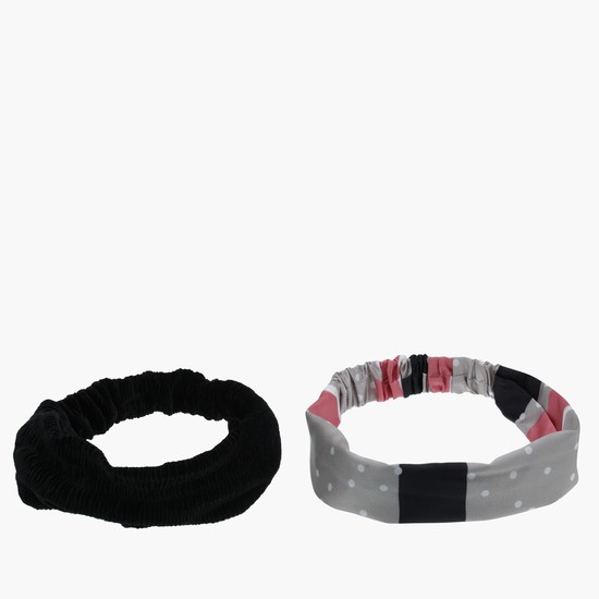 Textured Hair Band - Set of 2