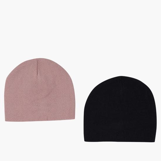 طقم قبعات من قطعتين