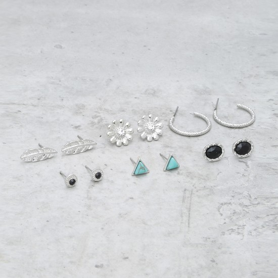 Assorted Earring - Set of 6