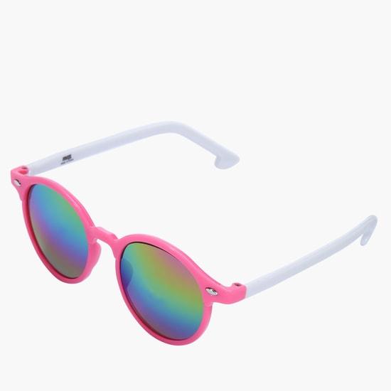 نظارة شمسية بقالب مستدير