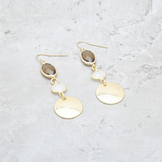 Earrings with Fish Hook Closure