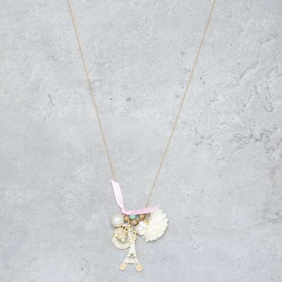 Embellished Charm Necklace