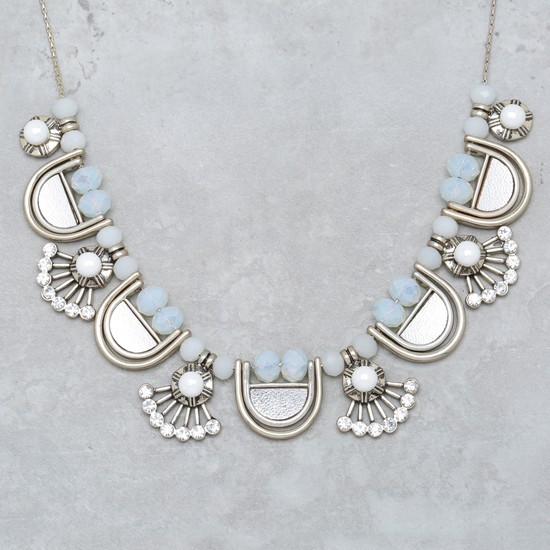 Studded Necklace and Earring Set