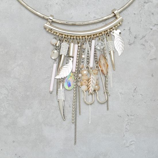 Dangling Choker Necklace