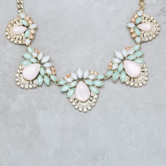 Necklace with Embellishments
