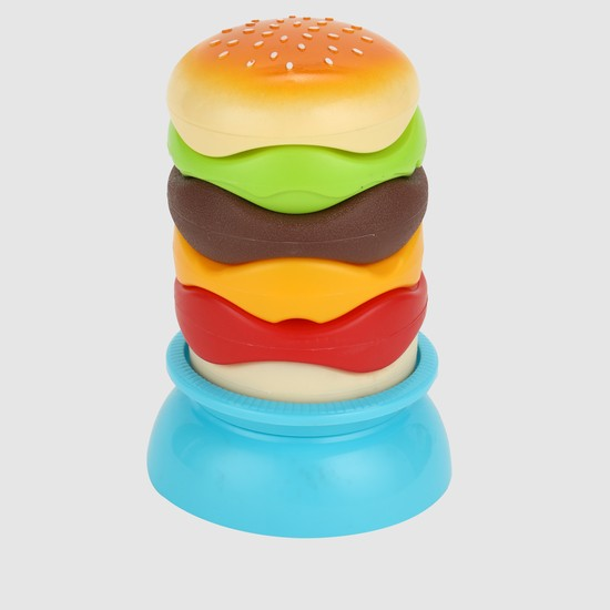 Stackable Hamburger Playset