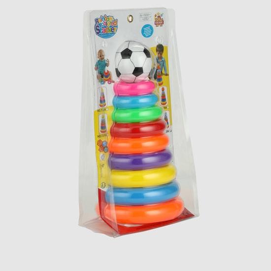 مجموعة كرة القدم والحلقة للعب