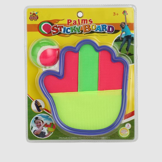 Plam Sticky Board and Ball Set