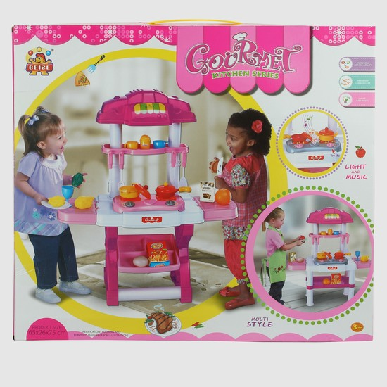 Kitchen Playset with Light and Sound