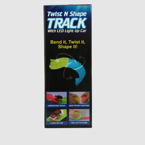 Twist and Shape Trackset with Car Playset
