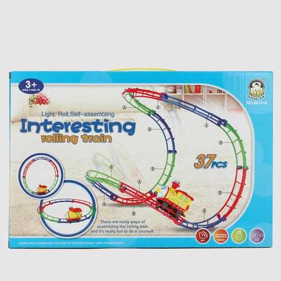 مجموعة عربة القطار للعب