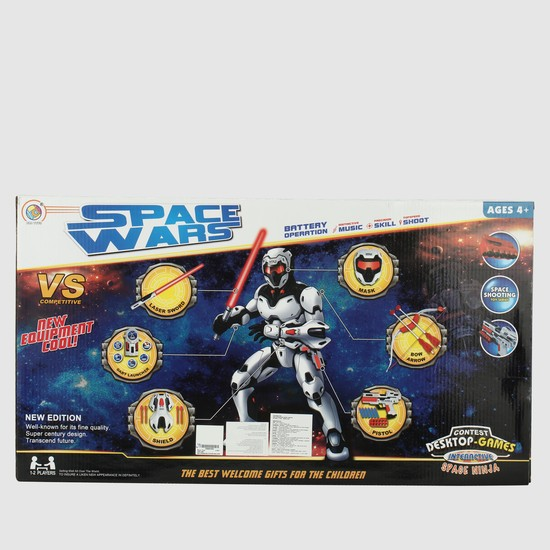 Space Wars Playset with Sound