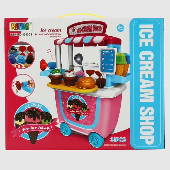 31-Piece Ice Cream Shop Playset