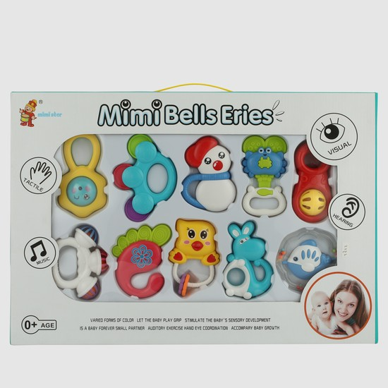 Rattle Toys - Set of 10