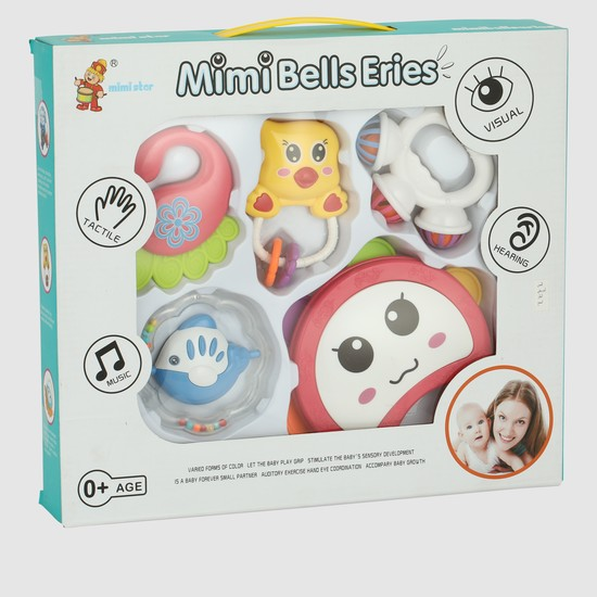 Rattle Toys - Set of 5
