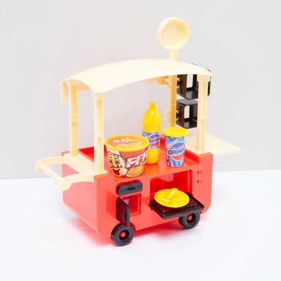 Fast Food Car Playset