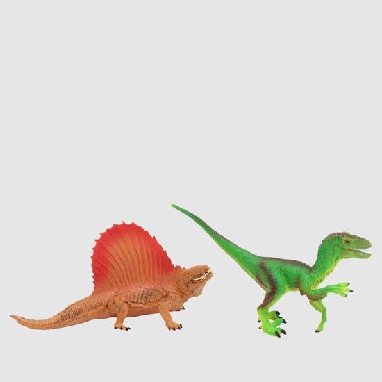 مجموعة ألعاب دمى الديناصور من قطعتين