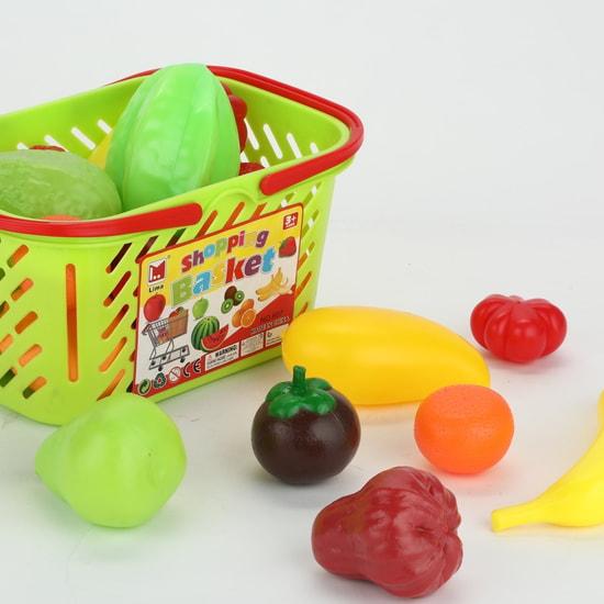23-Piece Fruit Basket Playset