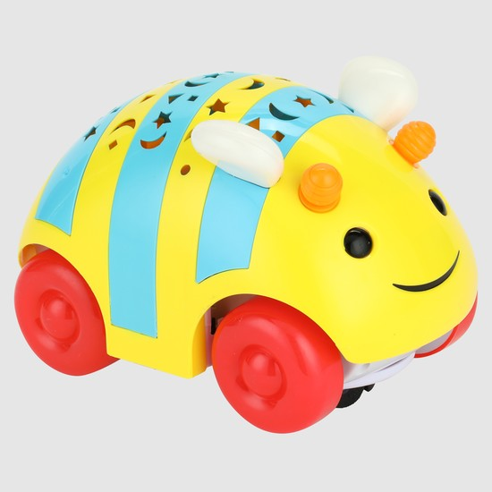 3D Bee Car with Light and Sound